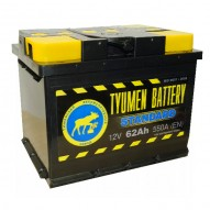 Tyumen Standart 62 А/ч (обратная)