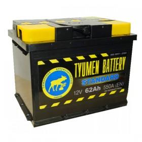 Автомобильный аккумулятор Tyumen Standart 62 А/ч