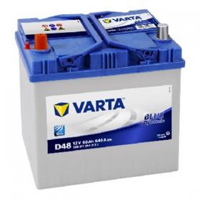 Аккумулятор VARTA 60 А/ч Blue Dynamic D48 Asia (п.п)