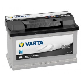 Аккумулятор VARTA 70 А/ч Black Dynamic E9 (о.п)