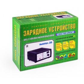 """Зарядного устройство ВЫМПЕЛ-20 НПП """"Орион СПб"""""""