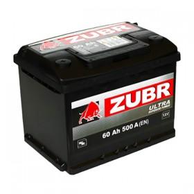 Аккумулятор ZUBR 60 А/ч Ultra