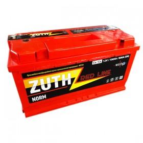 Аккумулятор ZUTH Red Line 100 А/ч
